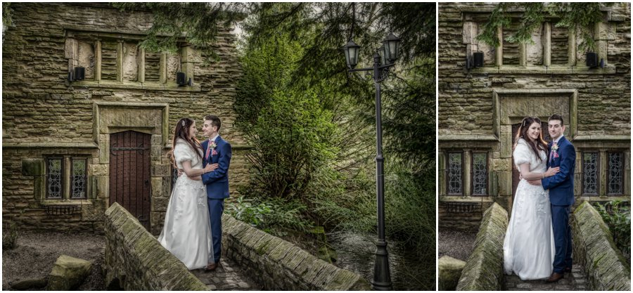 Bagden Hall wedding photographer in Huddersfield