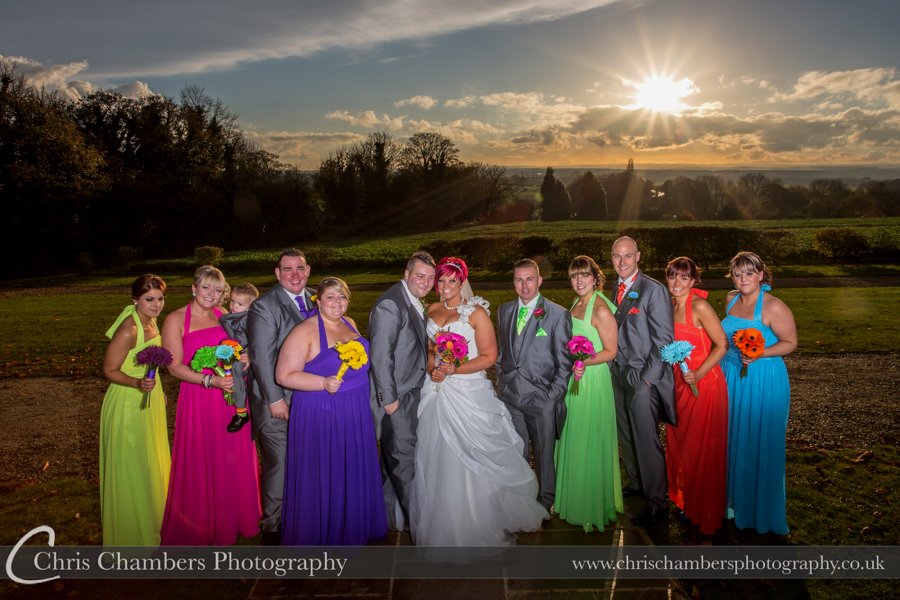 Pontefract wedding photography at Kings Croft, Award winning West Yorkshire wedding photographer