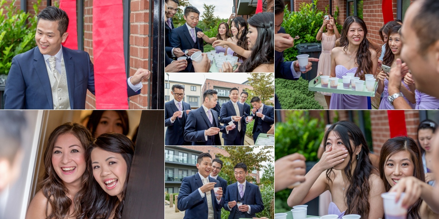Chinese wedding photography the Woodlands in Leeds