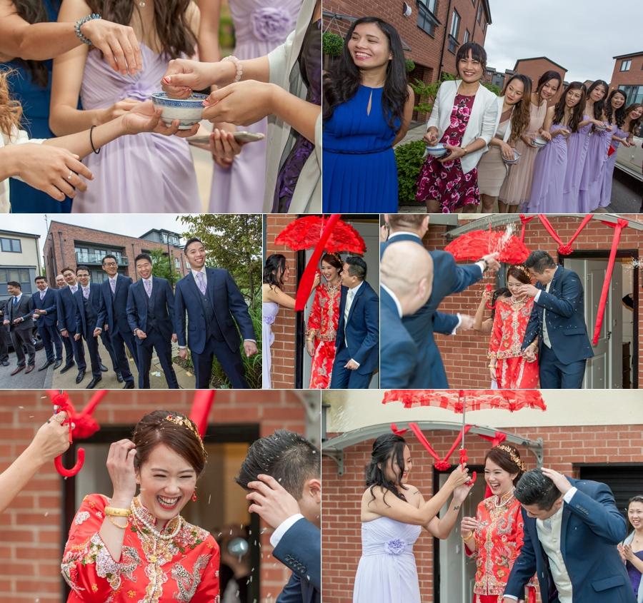 Leeds wedding photographer at Woodlands Hotel