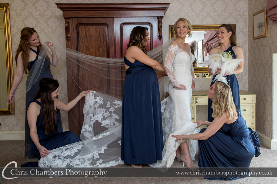 Yorkshire wedding photography at Hazlewood Castle, Tadcaster wedding photographs, Hazlewood Castle wedding