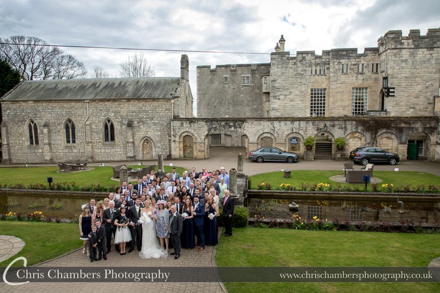 Wedding Photographs taken at Hazlewood Castle, Award winning Yorkshire Wedding Photographer, Chris Chambers Wedding Photographer, Hazlewood Castle Wedding Photographer in North Yorkshire, Hazlewood Castle wedding photos