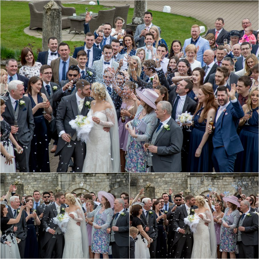 Yorkshire wedding photography at Hazlewood Castle, North Yorkshire wedding, Hazlewood Castle photographer