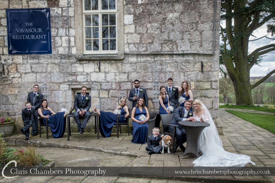 North Yorkshire wedding photography, Hazlewood Castle wedding photographer, Yorkshire wedding photography