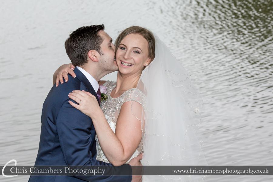 Waterton Park wedding photographs by award winning wedding photographer, Chris Chambers Photography