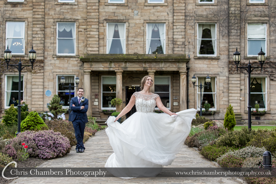 Walton Hall wedding photographs, Yorkshire wedding photographer