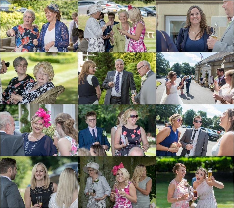 West Yorkshire wedding photographer in Pontefract at Wentbridge House Hotel