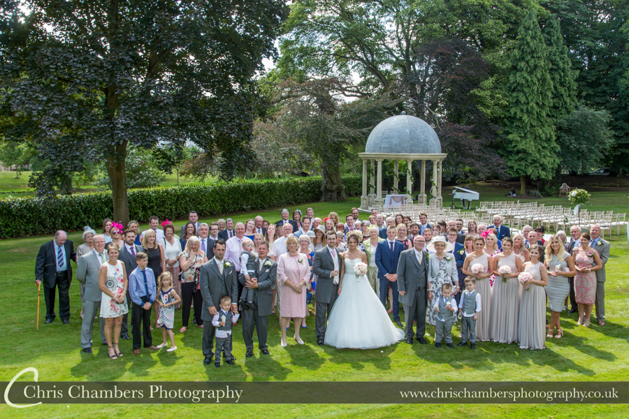 West Yorkshire Wedding Photographer at Wentbridge House Hotel