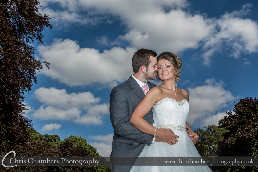 West Yorkshire wedding photographer in Pontefract at Wentbridge House Hotel